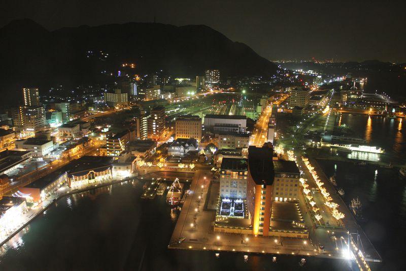 駅近の絶景夜景スポット♪関門海峡も一望!〜夜の門司港レトロおススメコース