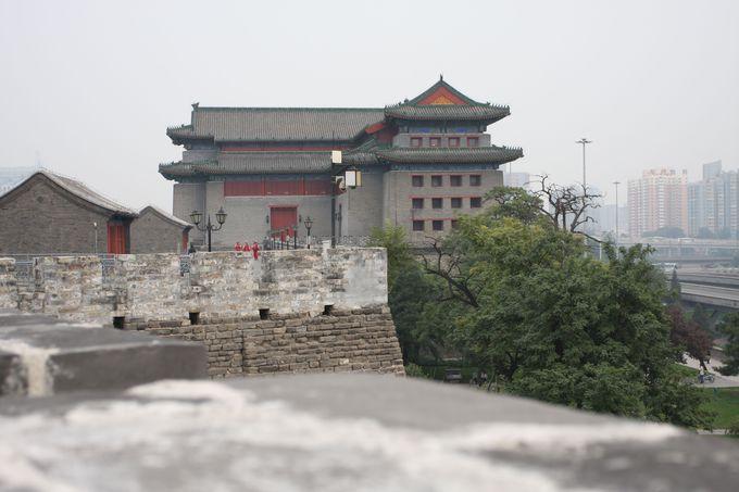 明・清の歴史を今に伝える城壁と角楼
