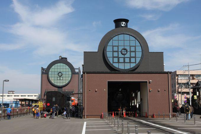 まるで鉄道博物館!…真岡駅の貴重な保存車両にも注目