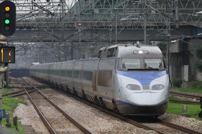 京釜電鉄線に乗って南へ…KTX専用線の分岐点に注目!