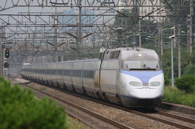KTXの走行シーンがきれいに撮れる♪…衿川区庁駅は一推し!