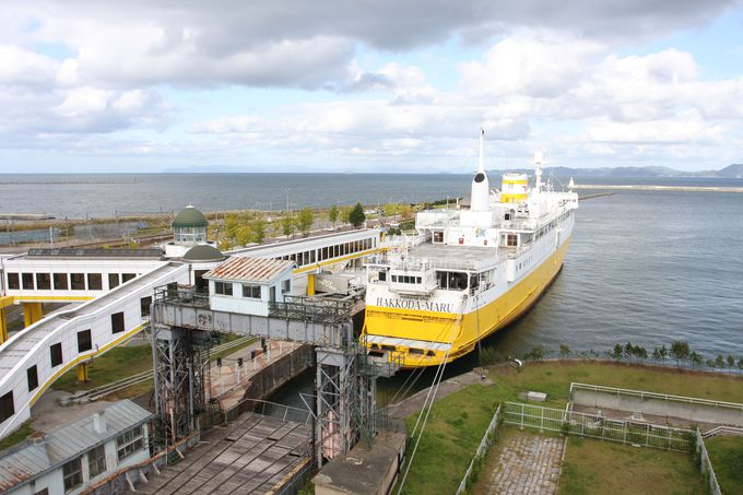 本州と北海道を結ぶ「青函トンネル」「青函連絡船」を観光