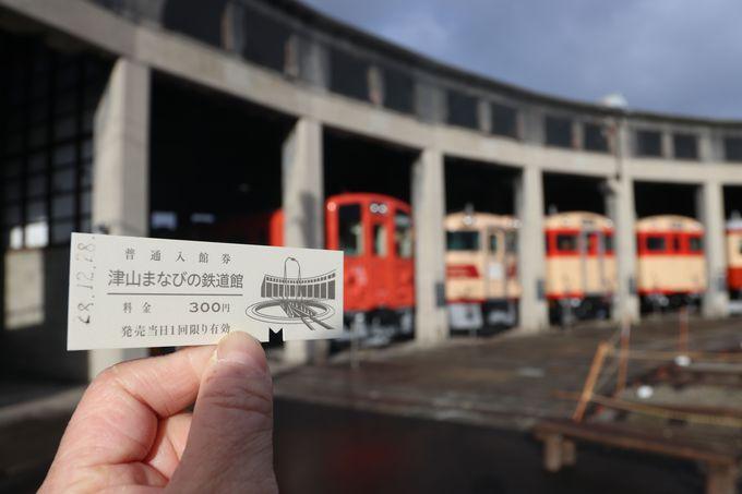 入場券は硬券の切符!