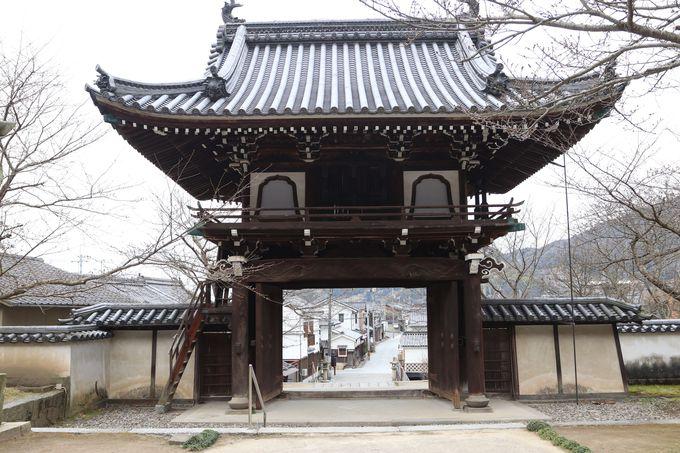 町歩きの終端は照蓮寺