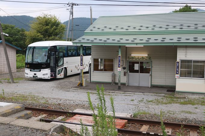 根室本線の「列車代行バス」とは…