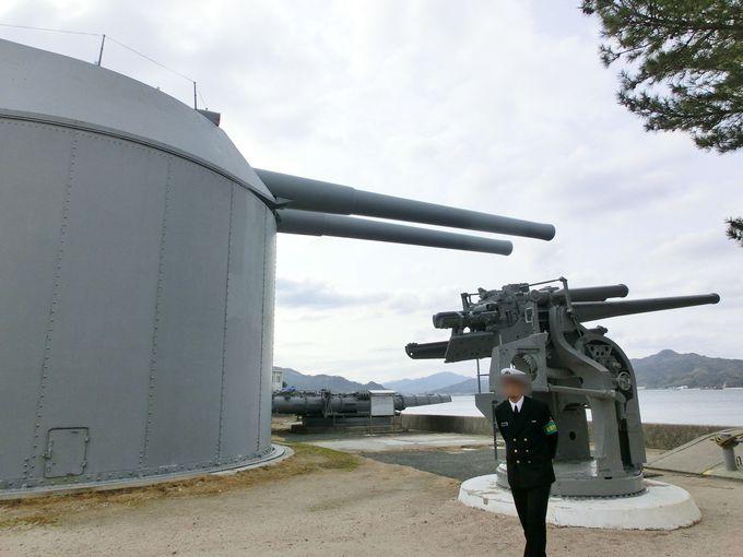 陸奥の4番主砲