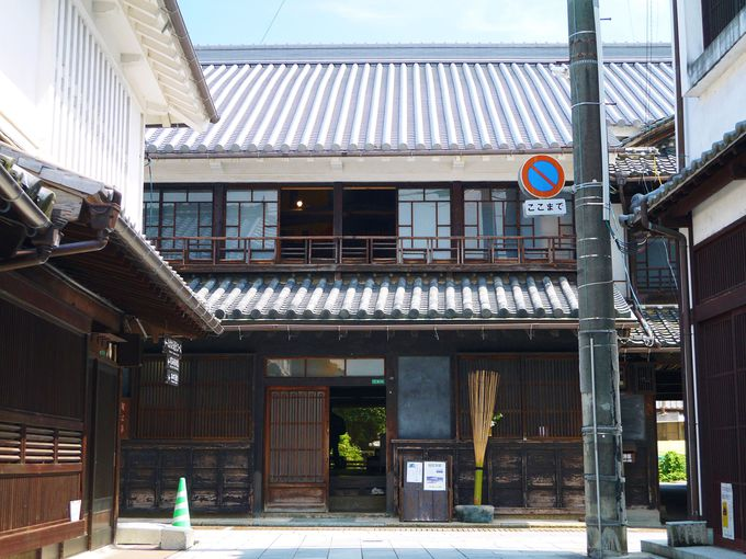 「私達展」の旧笠井邸