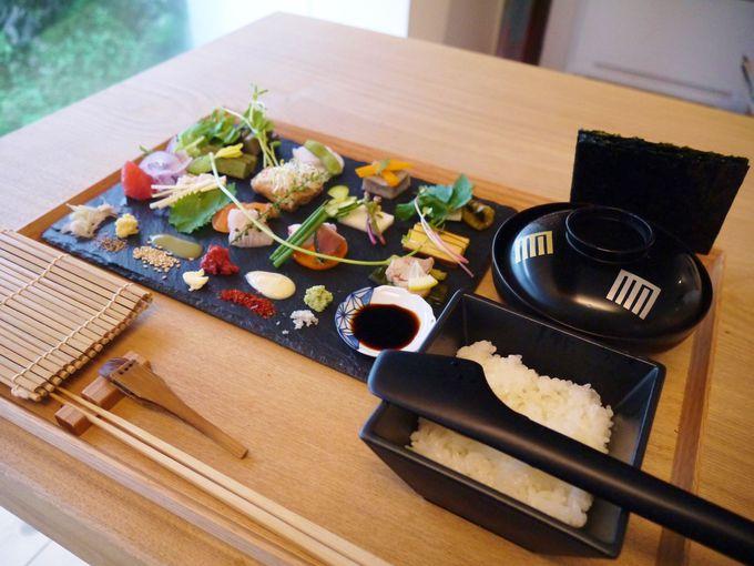手織り寿司人気の火付け役!京都の「AWOMB アウーム」