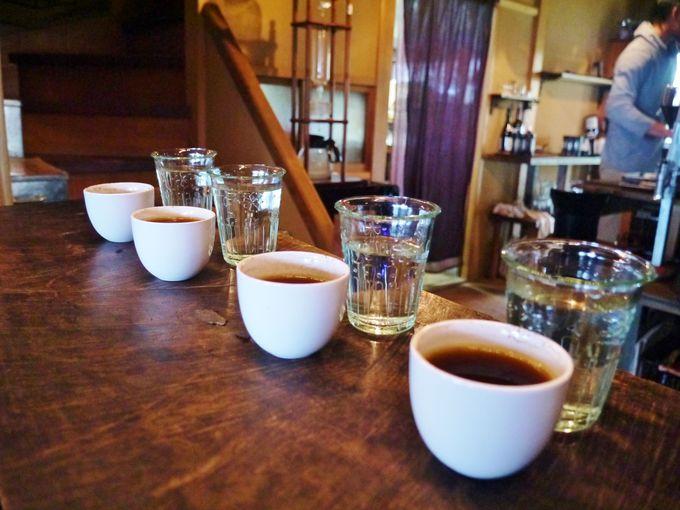 コーヒーはテイスティングで選ぶ