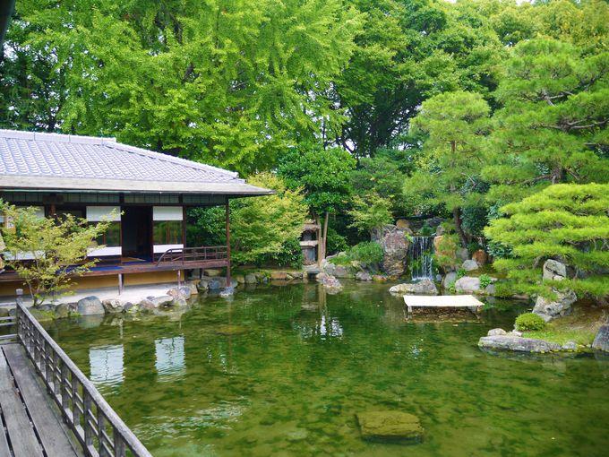 京都駅より徒歩7分、源氏物語の主人公のモデルの屋敷へ
