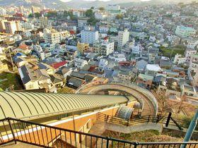 グラバー園へは「グラバースカイロード」がオモシロイ!長崎ならではの坂道エレベーターを体験