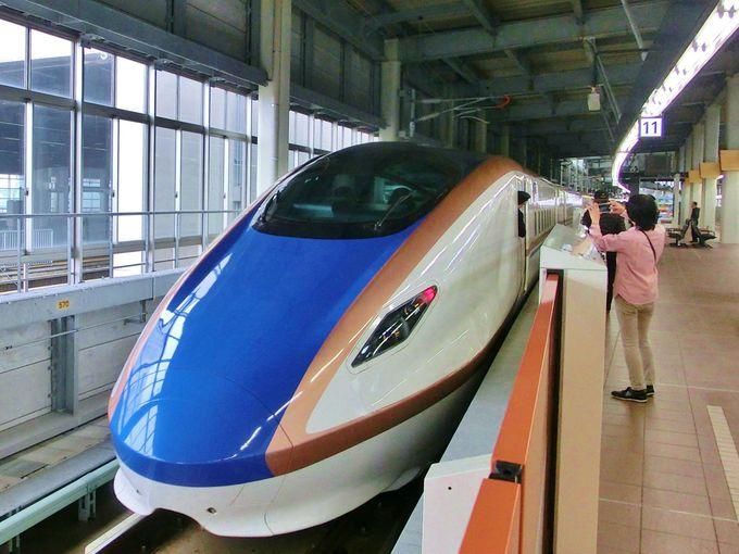 北陸新幹線・金沢駅