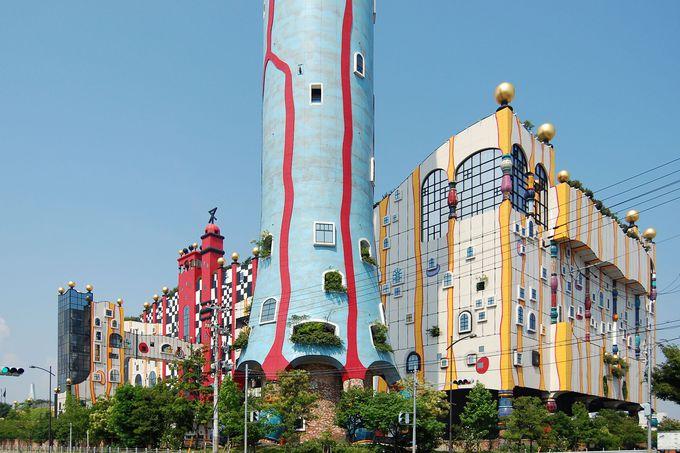遊び心のある「大阪市環境局舞洲工場」