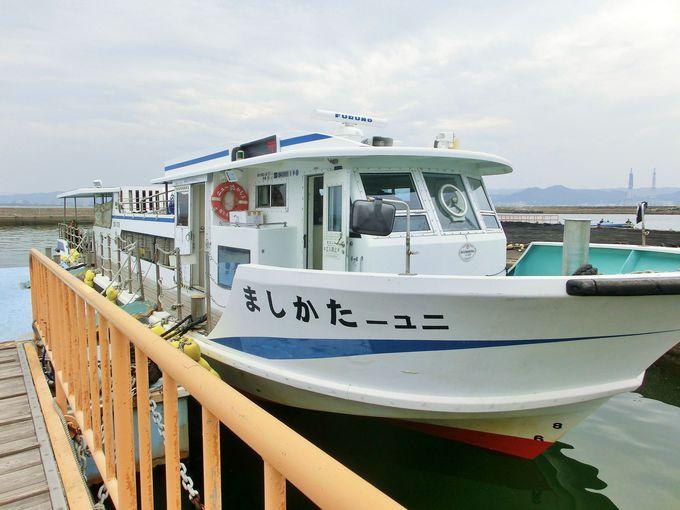 高島へのアクセス方法