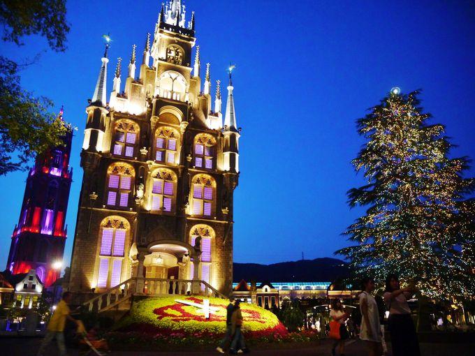 夕暮れ時が美しいアムステルダム広場