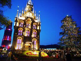 ハウステンボス秋の光の王国2015・新スポットで秋の夜長を楽しもう
