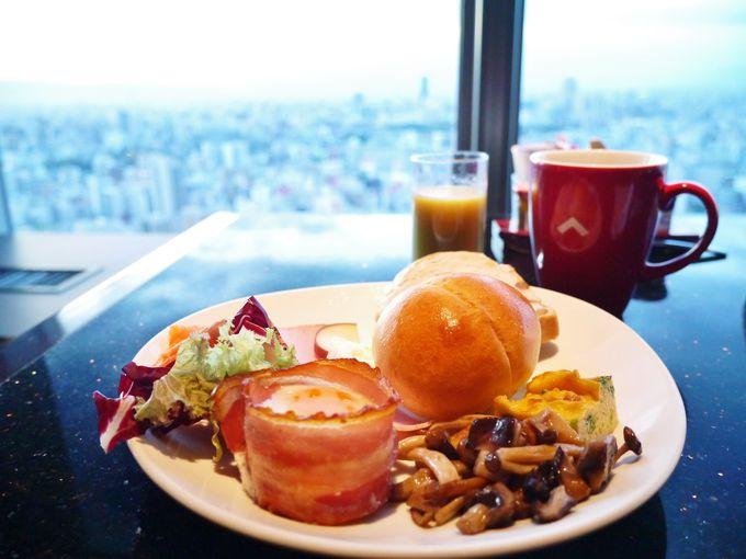 タボラ36での朝食