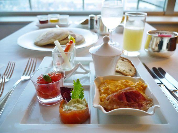 Museフロア限定の朝食「リッチブレックファスト」