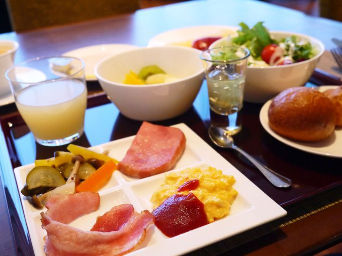 日本平ホテルの朝食