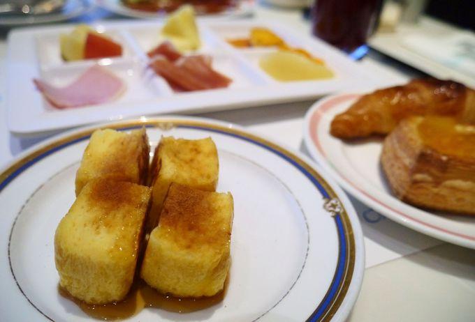 「流石オークラ」な朝食
