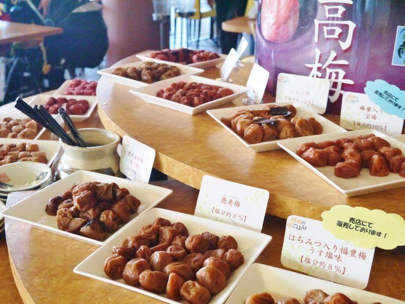 塩分注意!16種類以上の梅干しが誘惑する朝食・和歌山マリーナシティホテル