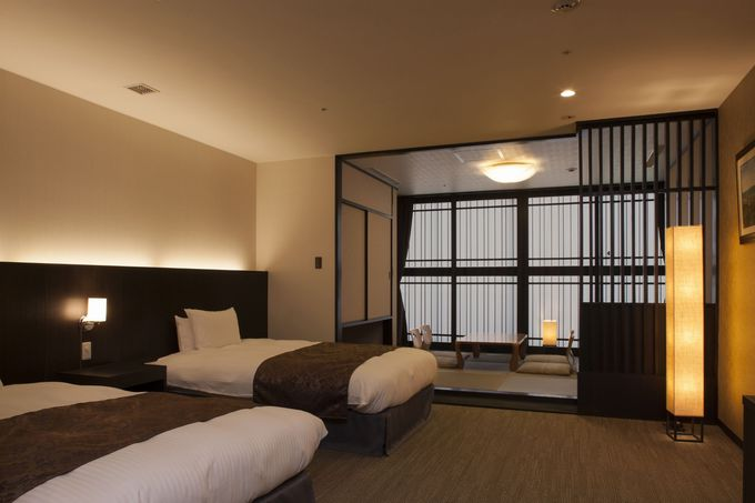 京都の夜景を満喫できる「京都タワーホテル」