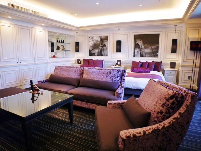 「ホテルピエナ神戸」のバラエティーに富んだ客室