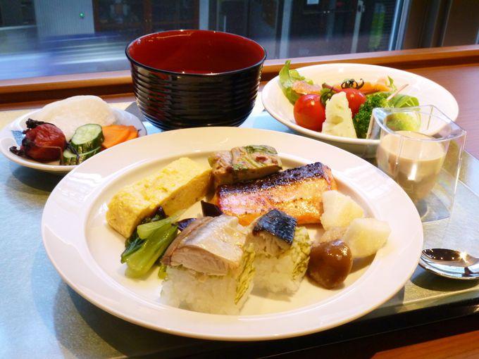 鯖寿司も!「ホテルグレイスリー京都三条」の朝食