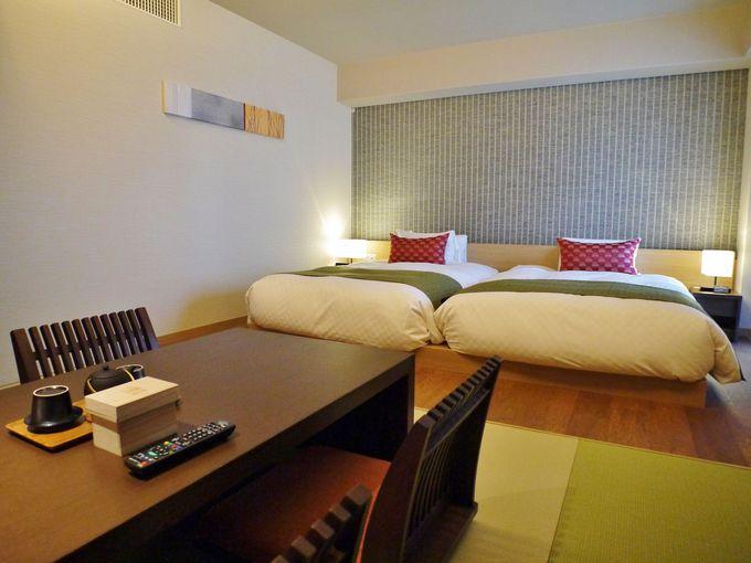 琉球畳で寛ぐ和洋室