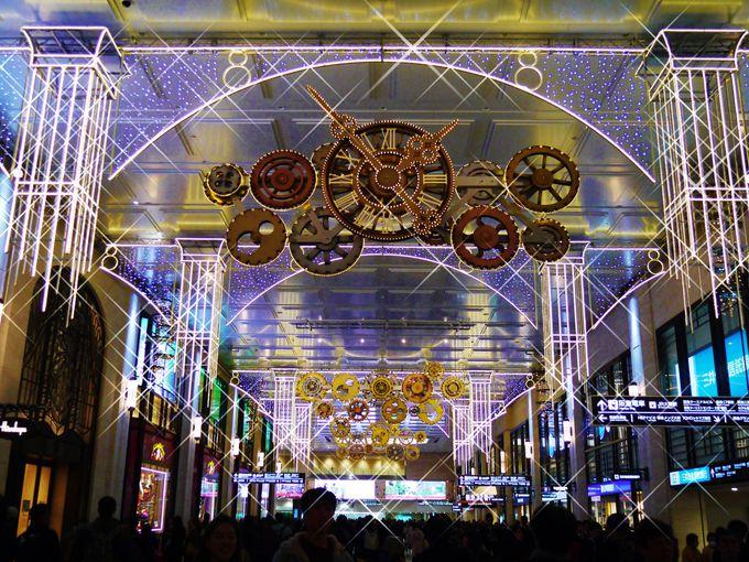 あったかクリスマス!大阪・梅田の屋内イルミネーション