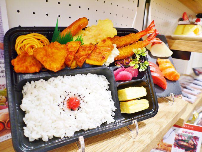 2階では和菓子や食品サンプル作りなどを体験
