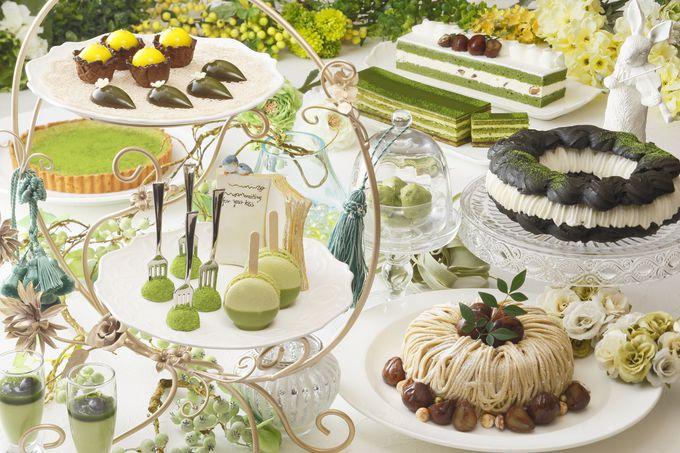京都センチュリーホテル「MATCHA Sweet Garden(抹茶スイートガーデン)」