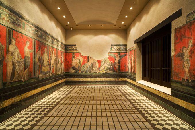 大塚国際美術館のユニークな展示方法