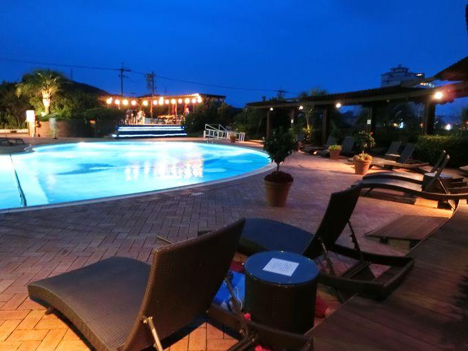 「ルネッサンス リゾート ナルト」の夜の過ごし方