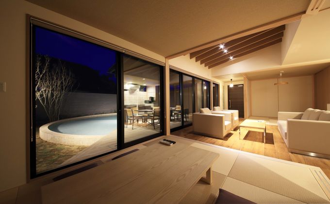 快適空間でグランピング気分が味わえる「瑠璃浜」