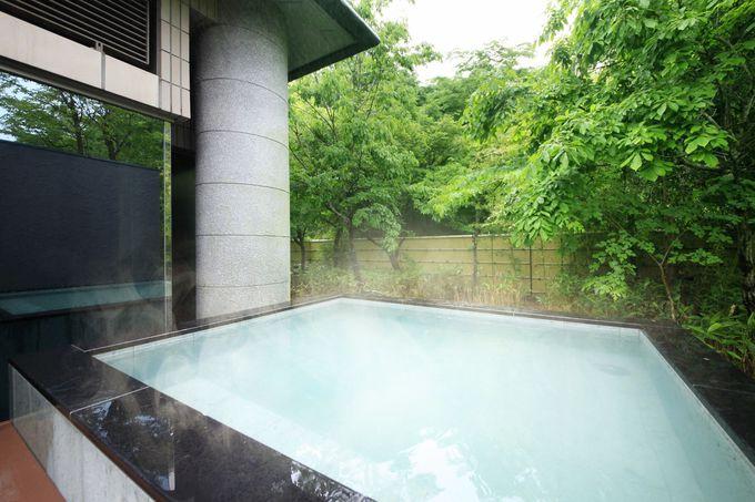 露天風呂、岩盤浴、ジャグジー、全部楽しみたい!