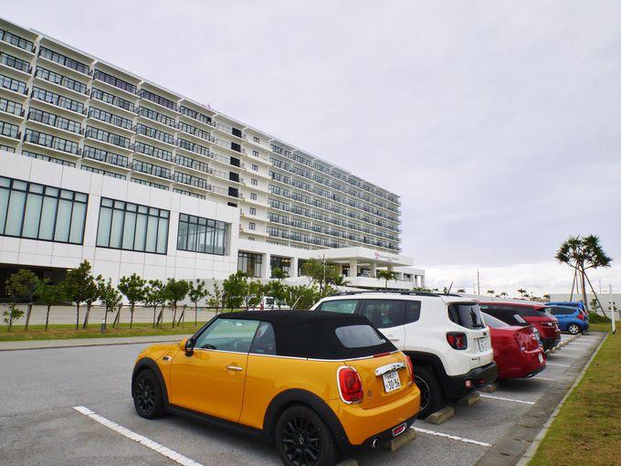 沖縄南部をドライブするならオープンカーで!