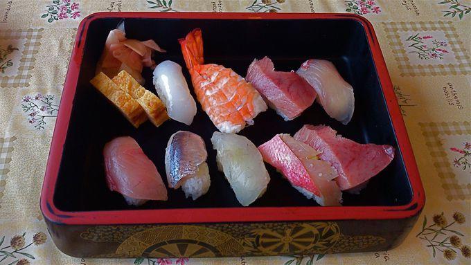 ネタの分厚さに注目っ!『ばんや寿司』