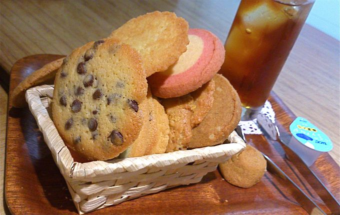好きなクッキー好きなだけ☆全16種類のクッキーが食べ放題