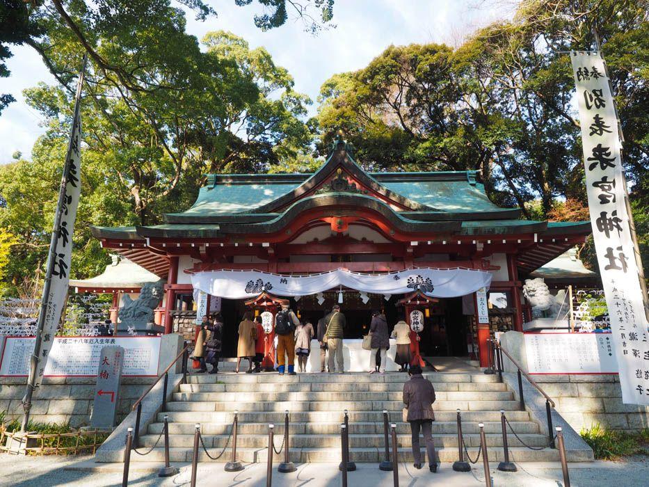 来宮神社の参拝方法、強力パワースポット大楠とは