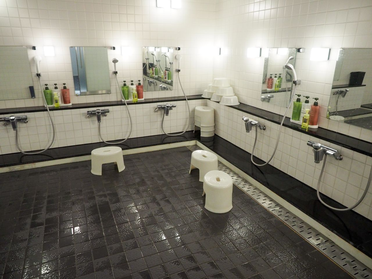 デイユースの方は大浴場の清掃時間を要チェック