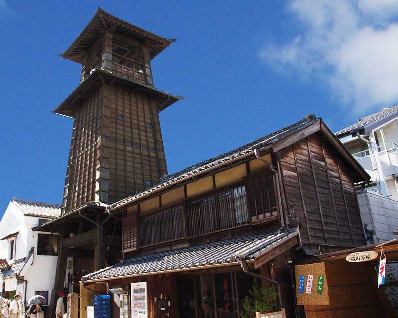 鳴り響くのは暖かな音色。小江戸川越のシンボル「時の鐘」