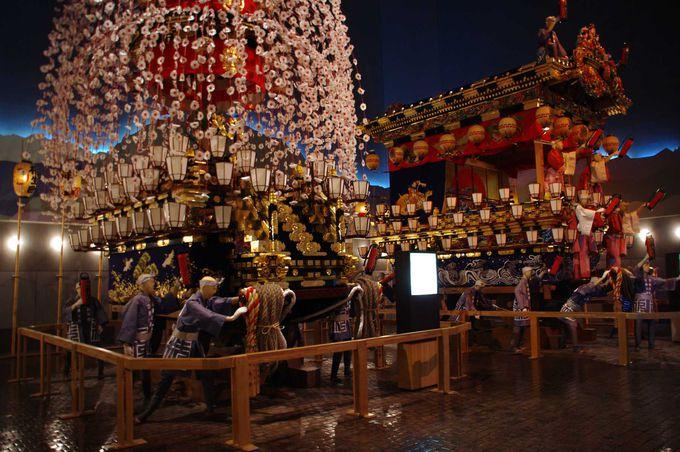昭和の名高い職人が作り上げた笠鉾と屋台
