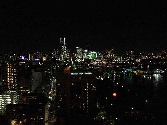 高すぎず低すぎず、夜景を楽しむには丁度いい高さ!