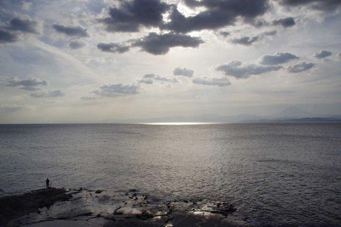 江ノ島 稚児ヶ淵から眺める絶景!