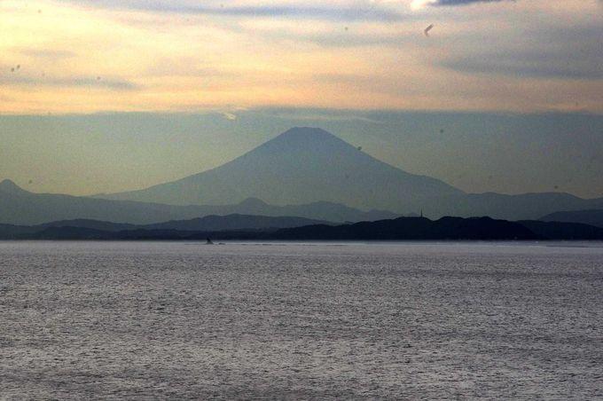 天気が良ければ、富士山のシルエットも満喫!