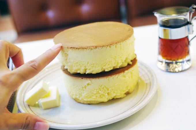 ホットケーキ界のドン!2枚重ね10cmホットケーキ