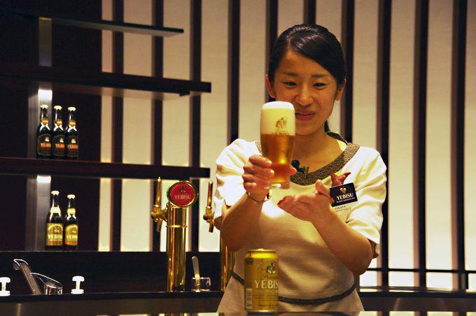 【ツアー後半】ビール試飲&家庭で美味しくビールを飲む方法を伝授