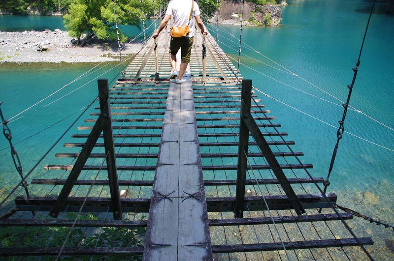 乙女の祈りを叶えてくれる!?恋愛成就の『夢の吊橋』求めて、パワースポット寸又峡温泉へ!!!【静岡】