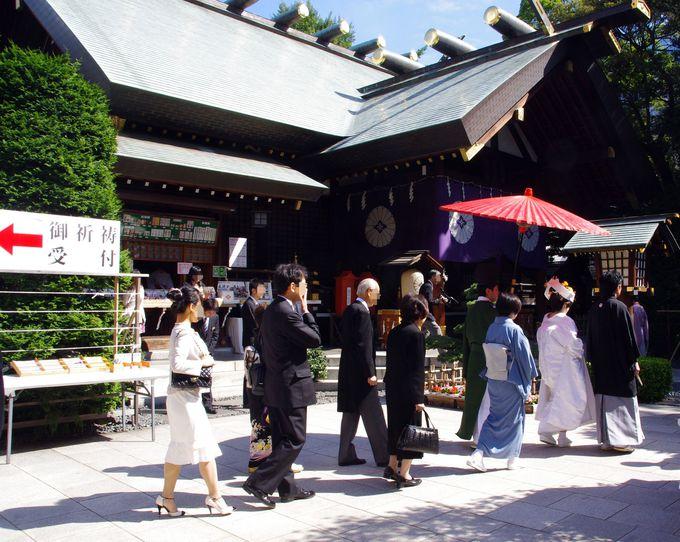 とにかく最後は神頼み!東京の縁結び神社